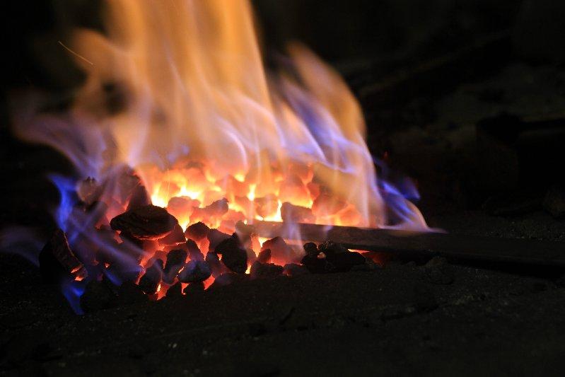Elden i smedjan