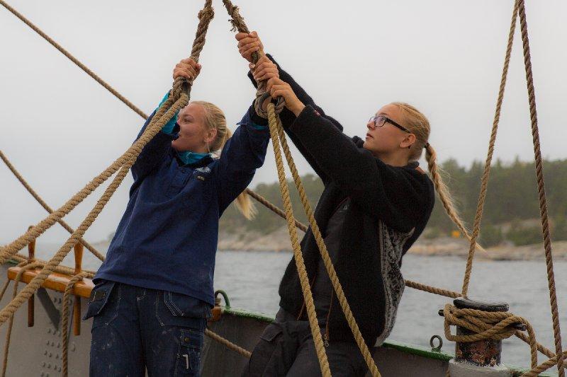 Kortare seglingar