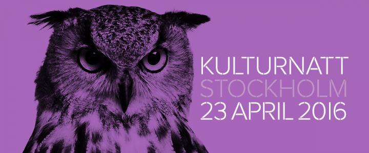 Kulturnatten 23 april 18.00-24.00 |