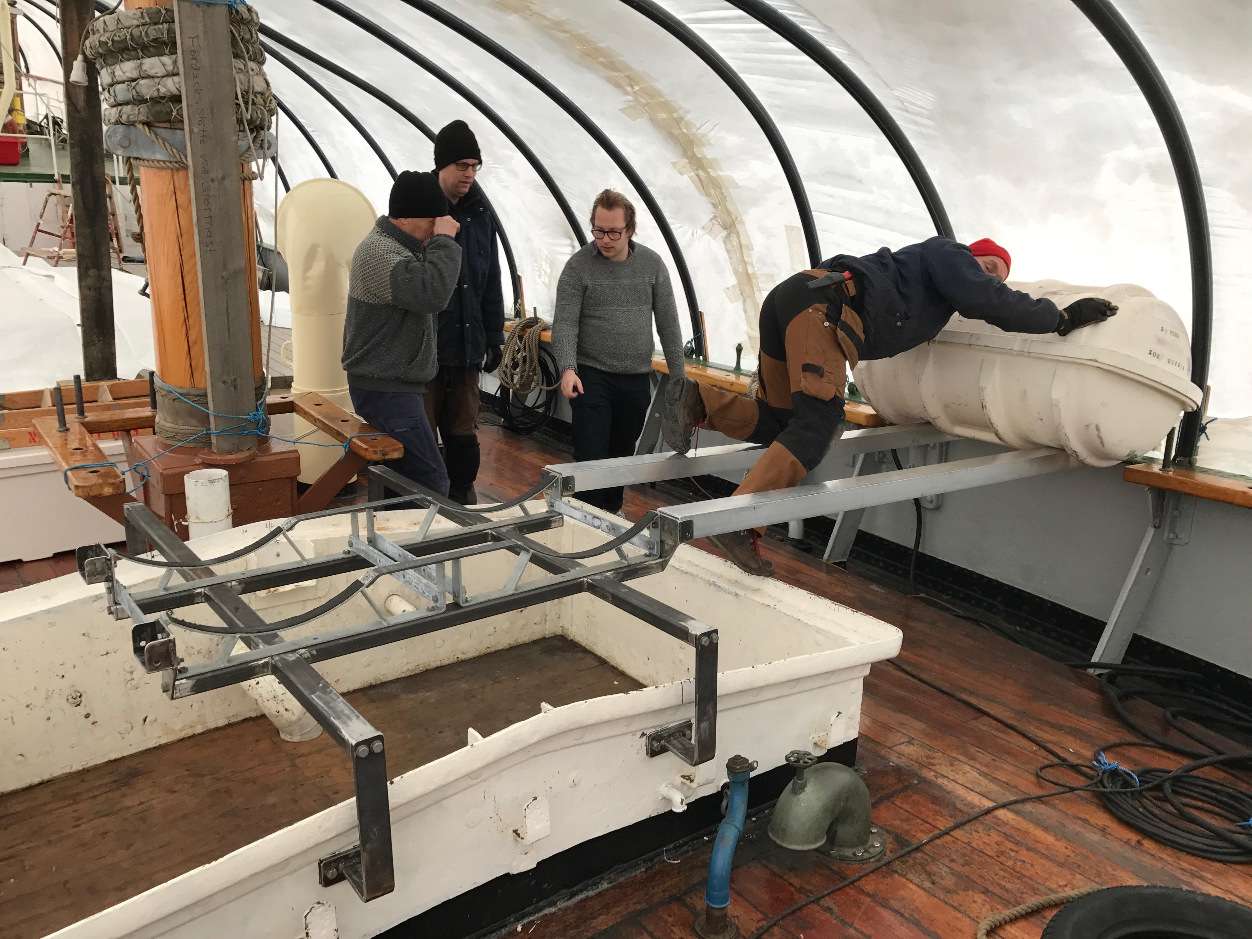 Vinterns projekt på våra fartyg  