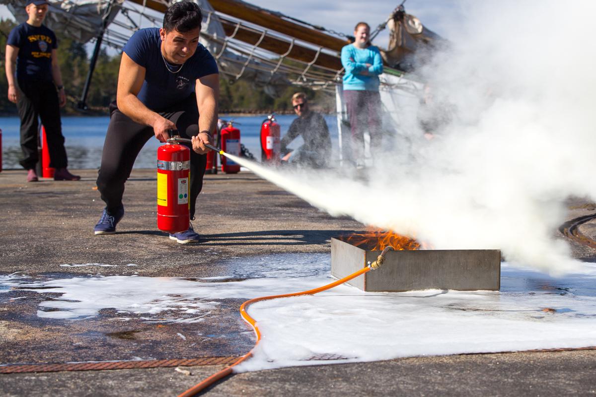 brandsläckning Ludvig 2017